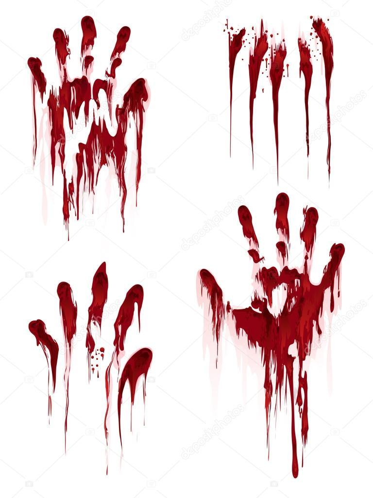 ROZETKA | Декор настенный Кровавые руки FL163. Цена, купить Декор ... | 1024x768