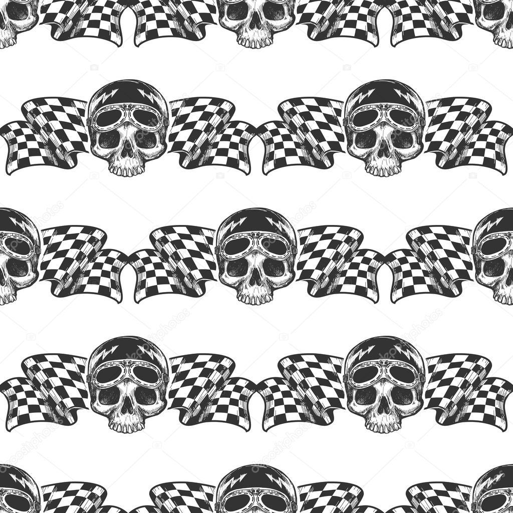 Increíble Cráneo Y Bandera Patrón De Tejer Ideas - Ideas de Patrón ...