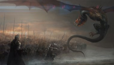 war with dragon