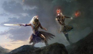 evil versus good, Horus versus Seth