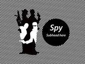 Photo Spy in spy concept