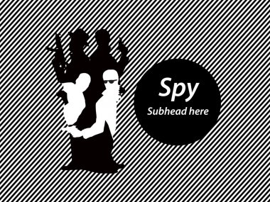 Spy in spy concept