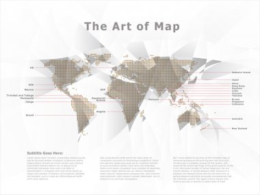 Urban Dynamic World Map