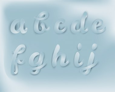 origami script font