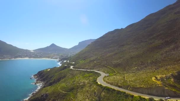 Hout Bay Mountain Pass 4K UHD aerial footage from Chapmans Peak Drive. Cape Town South Africa. Part 4 of 5