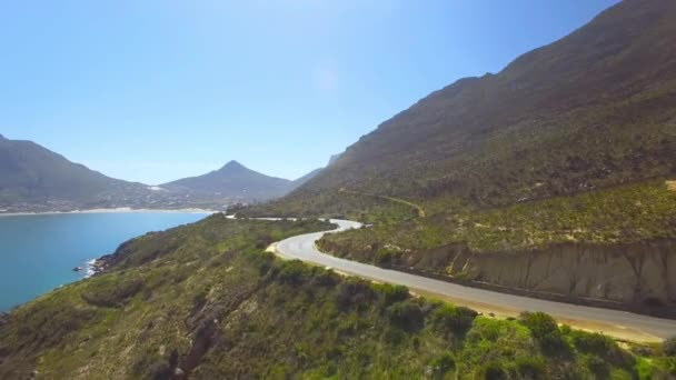 Hout Bay Mountain Pass 4K UHD aerial footage from Chapmans Peak Drive. Cape Town South Africa. Part 2 of 2