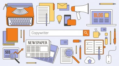 Copywriter, journalist and blogger