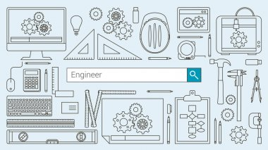 Mechanical engineer banner