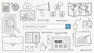 Marketing and accounting expert banner