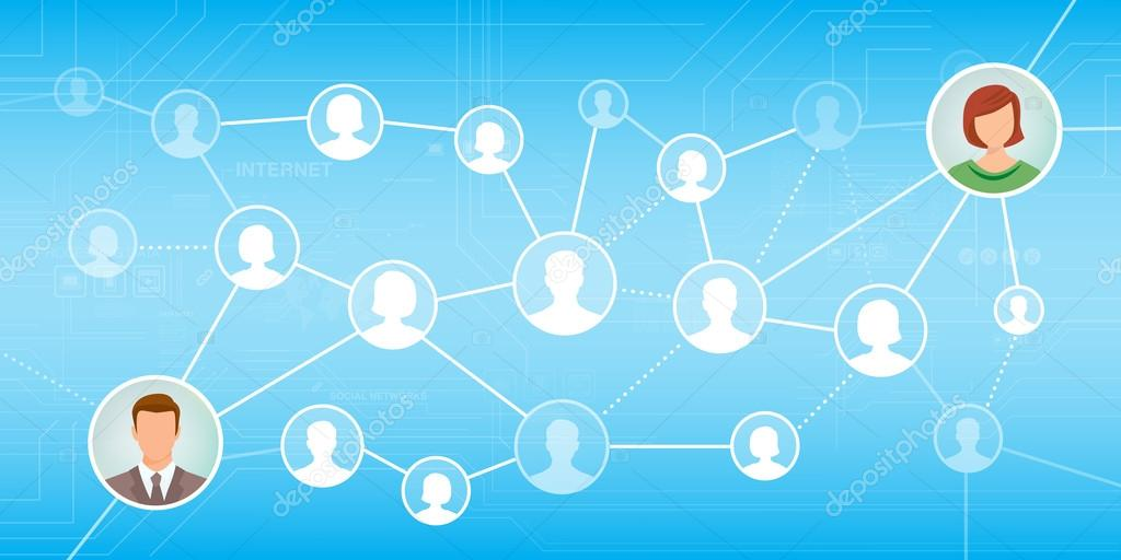 online using social networks