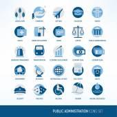 Fényképek Közigazgatás-ikonok