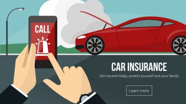Car insurance banner