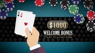 Poker online banner