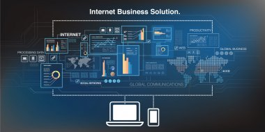 Online business and cloud computing technology