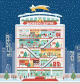 Fényképek Bevásárló központ, karácsonyi díszek