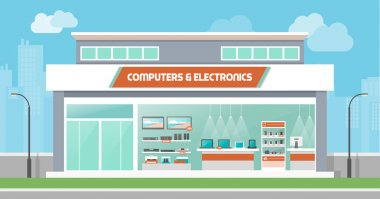 Computers and electronics store