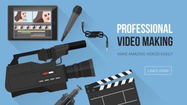Video making banner