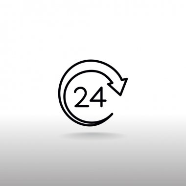 24 hours.service icon