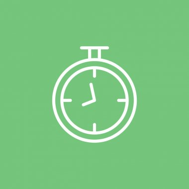 outline stopwatch icon