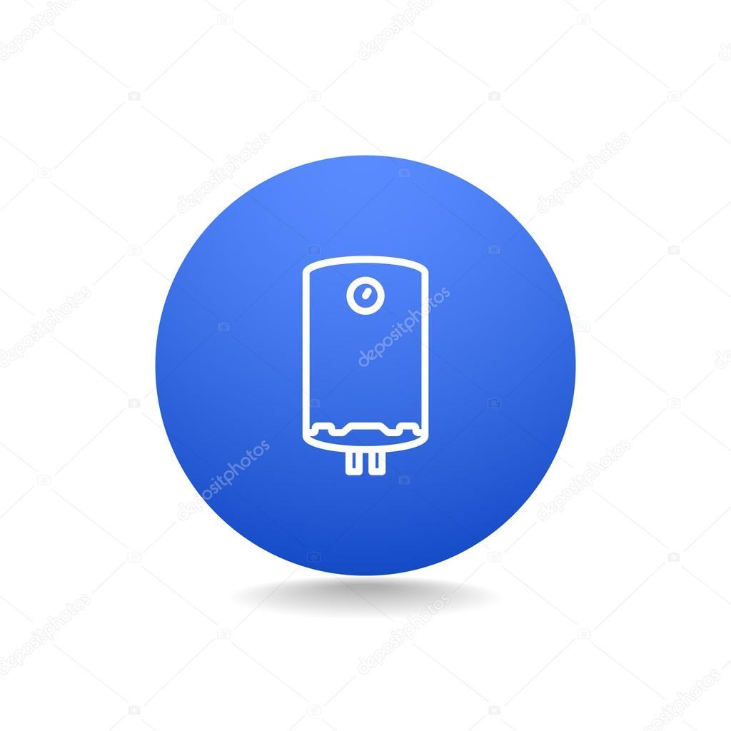 Wasser-Kessel-Symbol — Stockvektor © Mr.Webicon #102019988