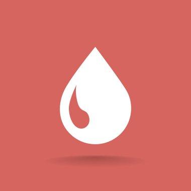 liquid droplet web icon