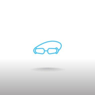 accessory goggles icon