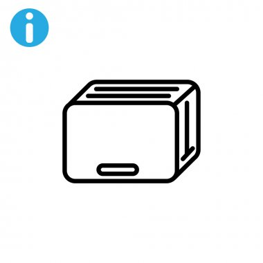 kitchen toaster icon