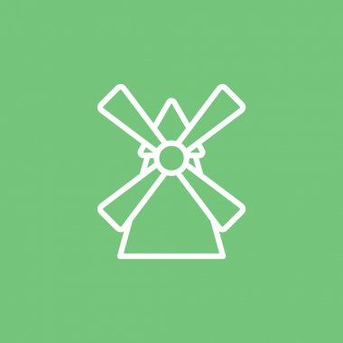 agricultural windmill icon