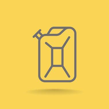 Petrol Jerrycan icon