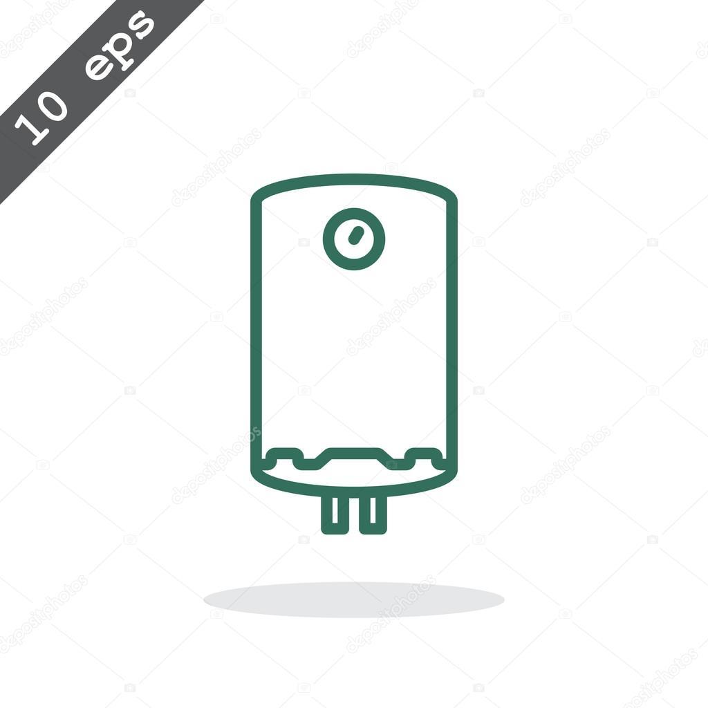 Wasser-Kessel-Symbol — Stockvektor © Mr.Webicon #102647406