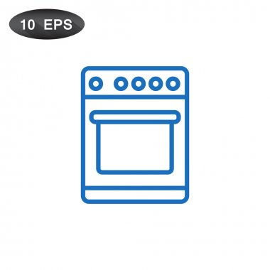 stove for cooking icon