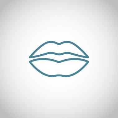 human lips icon