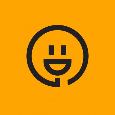 smiley and plug icon