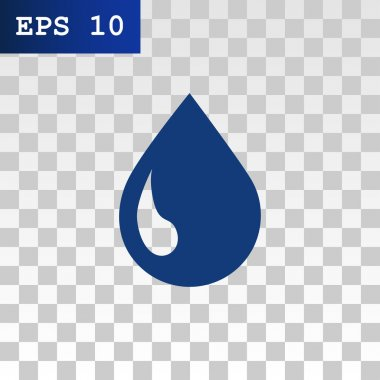 liquid droplet web icon