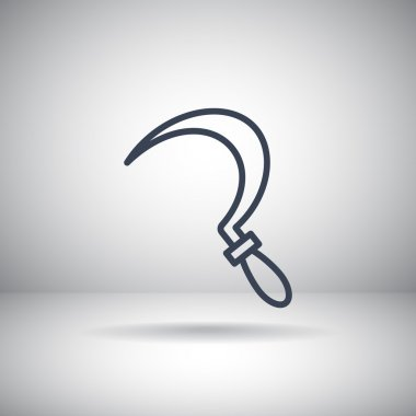 sickle tool icon