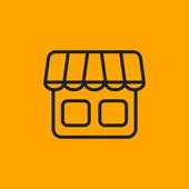 Ikona obchod nebo obchod