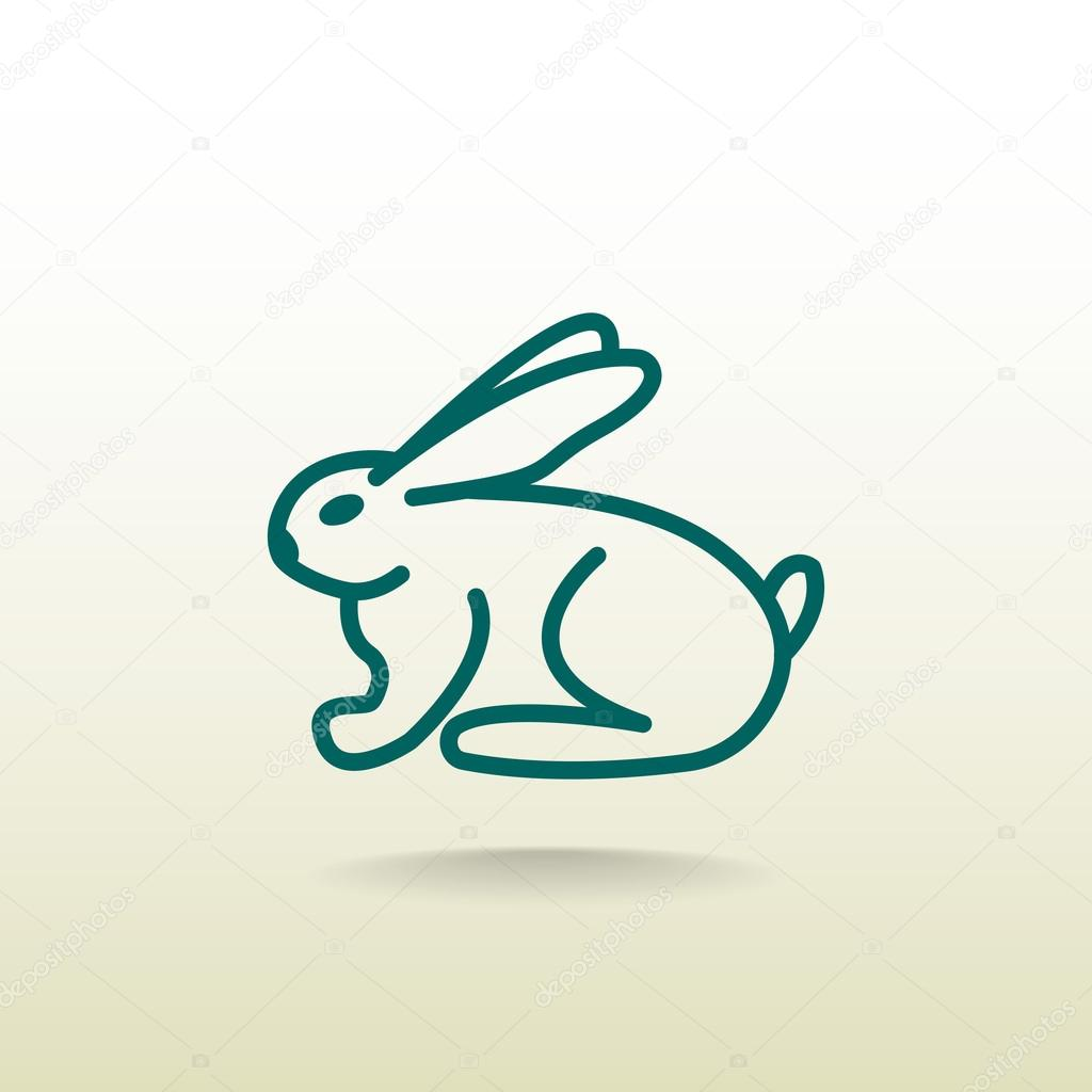 Bunny Or Rabbit Icon Stock Vector Mrwebicon 104513678