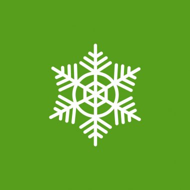 snowflake winter icon