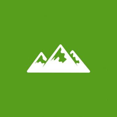 Mountains web icon