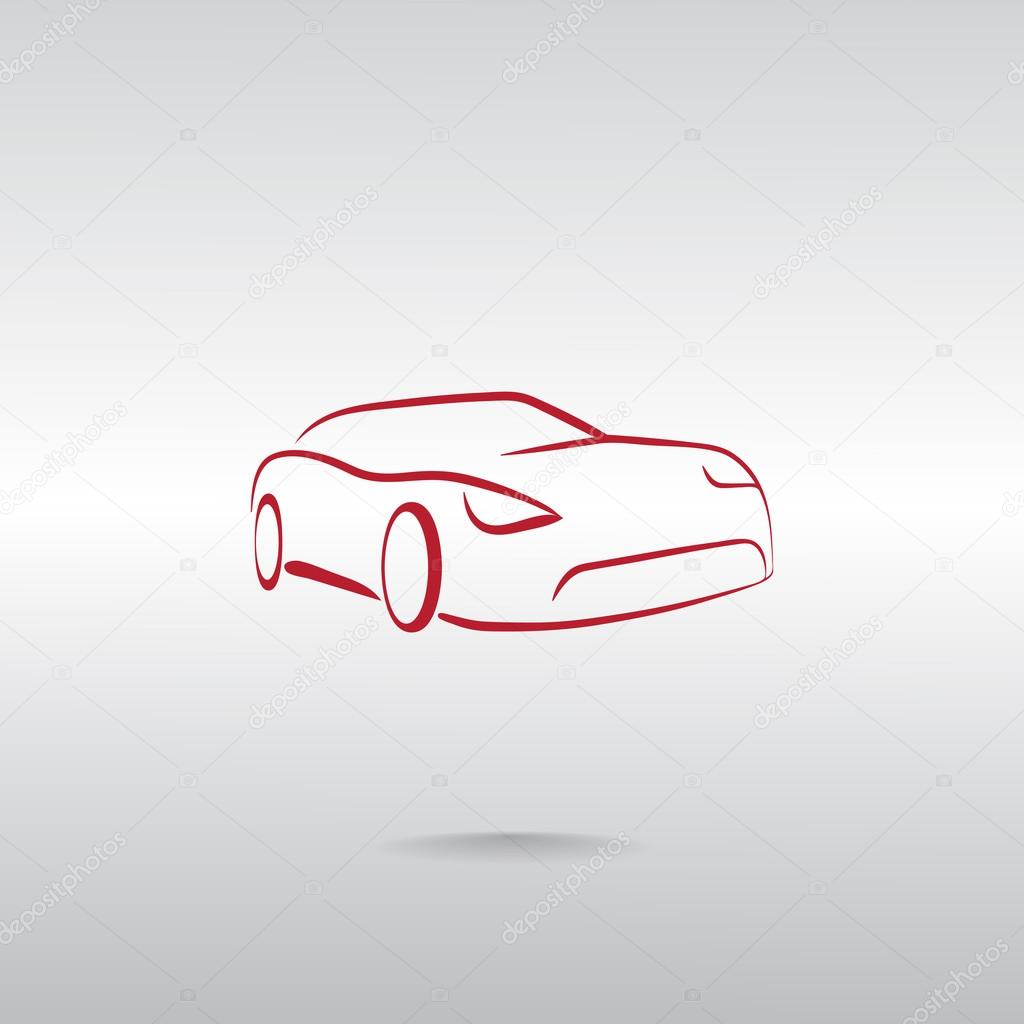 Luxury Car Icon Stock Vector C Mr Webicon 105491640