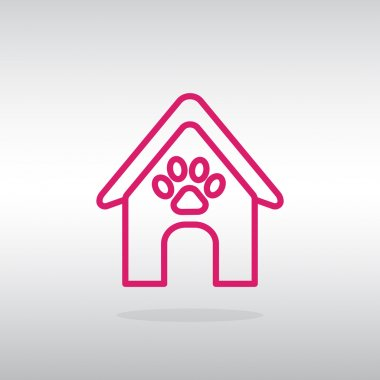Booths for dogs icon