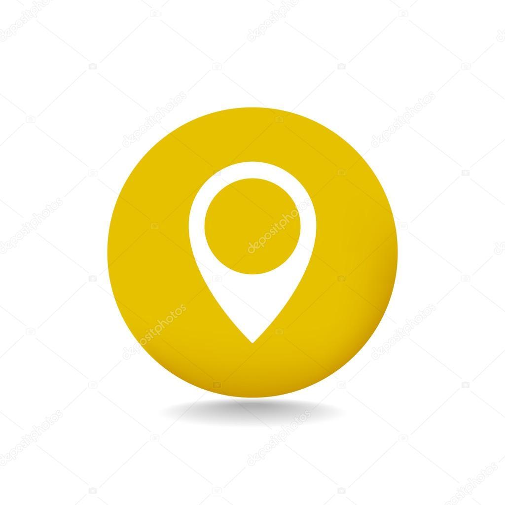 location gps icon stock vector mr webicon 105505642
