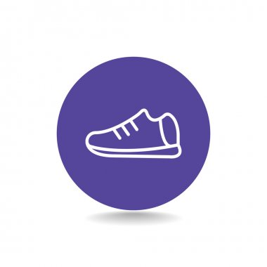 Shoe for man icon