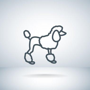Dog web Icon.
