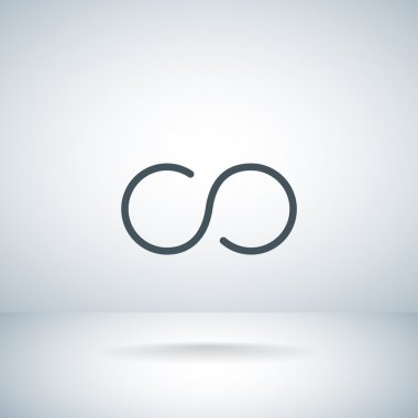 Infinity abstract sign Icon