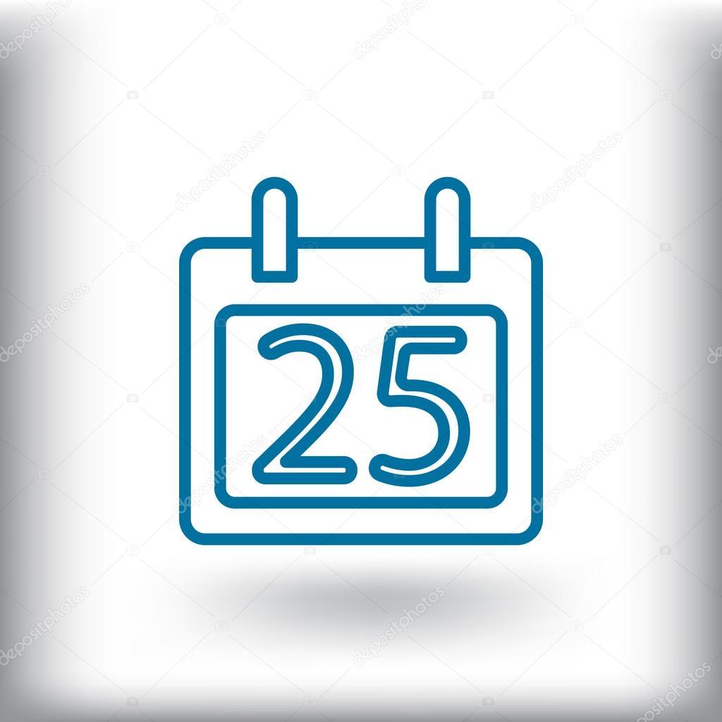 Calendario Giorno.Icona Del Calendario Giorno Vettoriali Stock C Mr Webicon