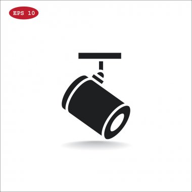 spotlight lamp icon