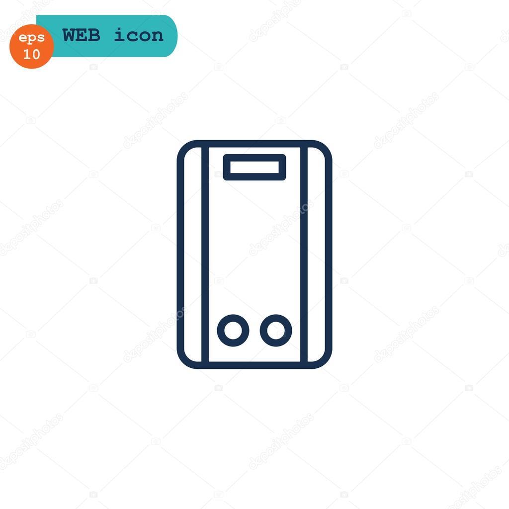 Wasser-Kessel-Symbol — Stockvektor © Mr.Webicon #118750996