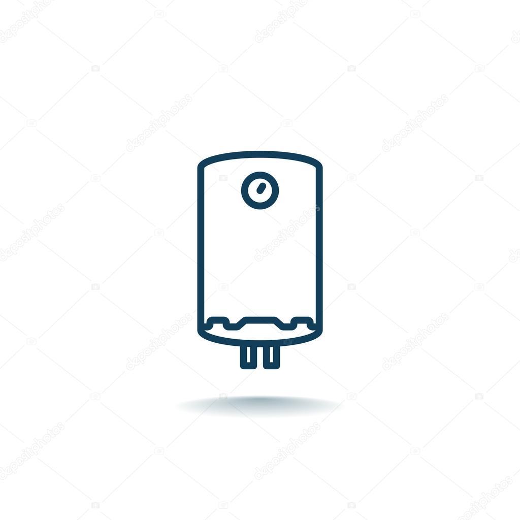 elektrische Wasser-Kessel-Symbol — Stockvektor © Mr.Webicon #122189966
