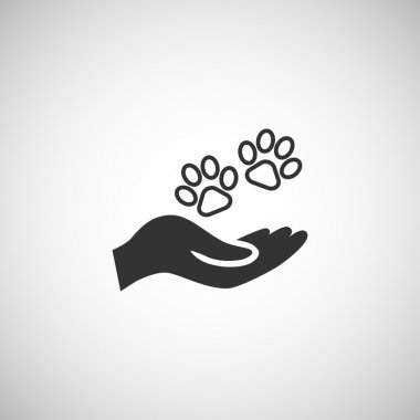 animals protection concept icon